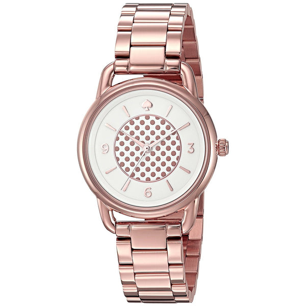 Kate Spade Women's KSW1167 'Boathouse' Rose-Tone Stainless Steel Watch