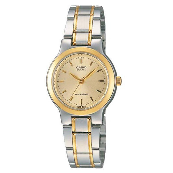 Casio Women's LTP-1131G-9A 'Classic' Two-Tone Stainless Steel Watch