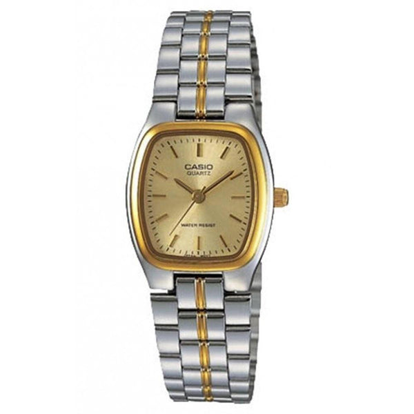 Casio Women's LTP-1169G-9A 'Classic' Two-Tone Stainless Steel Watch