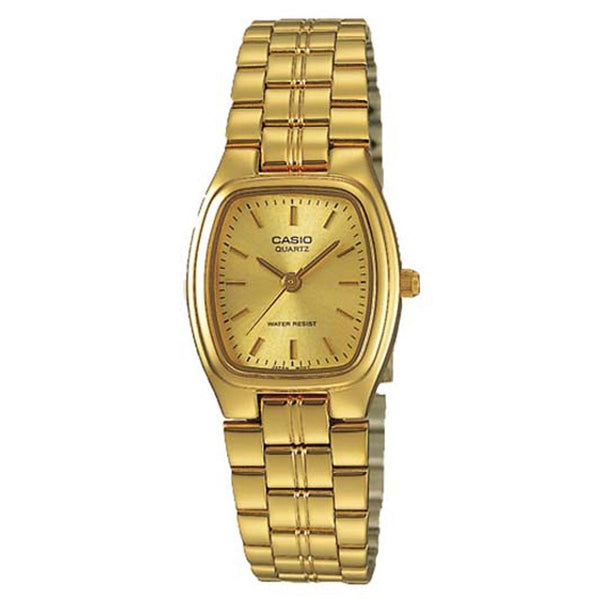 Casio Women's LTP-1169N-9A 'Classic' Gold-Tone Stainless Steel Watch