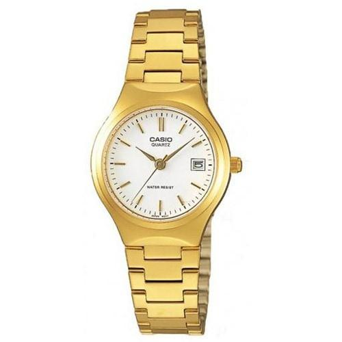 Casio Women's LTP-1170N-7A 'Classic' Gold-Tone Stainless Steel Watch