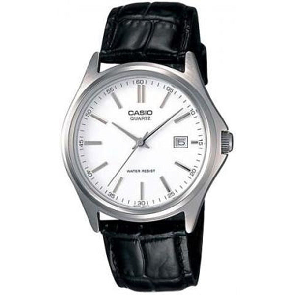 Casio Men's LTP-1183E-7A Black Leather Watch