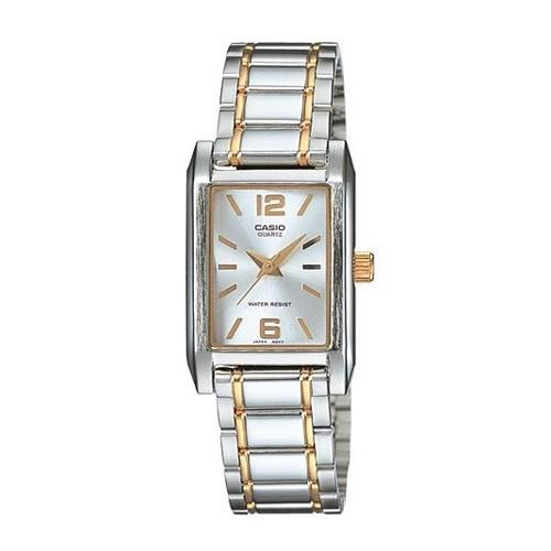 Casio Women's LTP-1235SG-7A 'Classic' Two-Tone Stainless Steel Watch