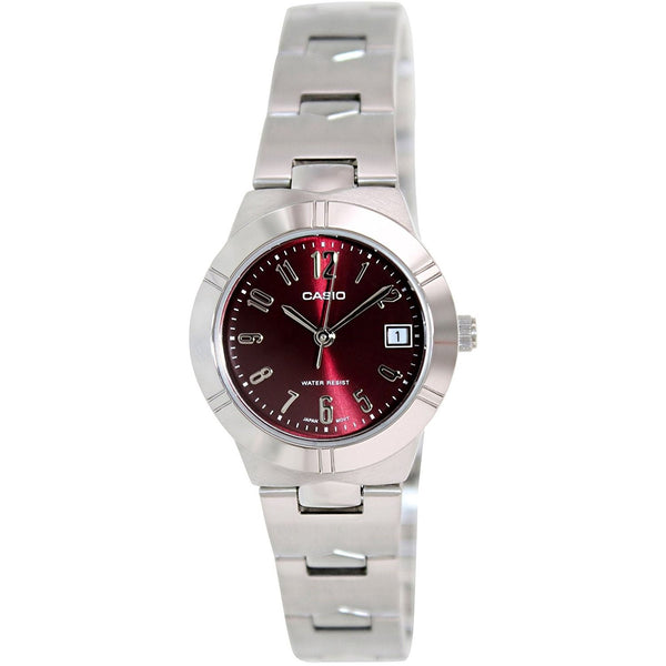 Casio Women's LTP-1241D-4A2D Stainless Steel Watch