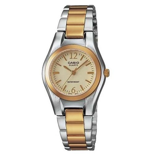 Casio Women's LTP-1253SG-9A 'Classic' Two-Tone Stainless Steel Watch