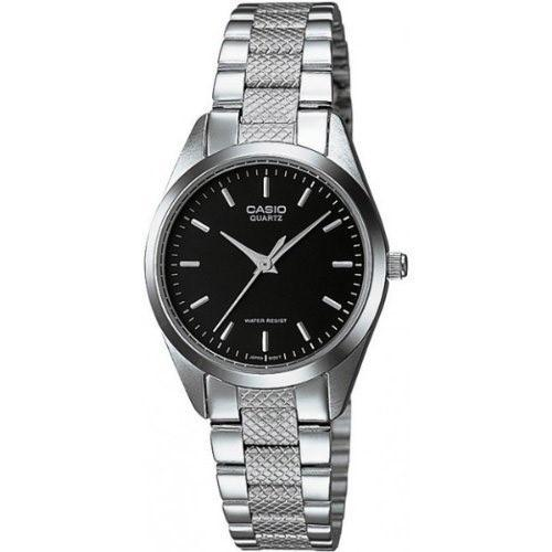Casio Women's LTP-1274D-1A 'Classic' Stainless Steel Watch