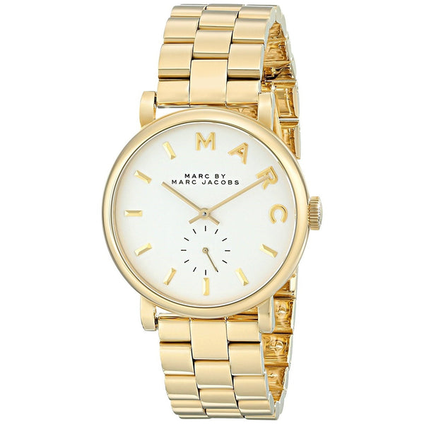 Marc Jacobs Women's MBM3243 'Baker' Gold-Tone Stainless Steel Watch