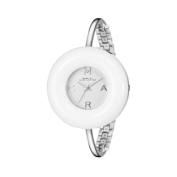 Marc Jacobs Women's MBM3396 'Donut' Stainless Steel Watch