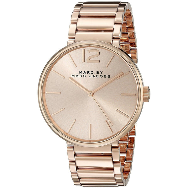 Marc Jacobs Women's MBM3402 'Peggy' Rose-Tone Stainless Steel Watch