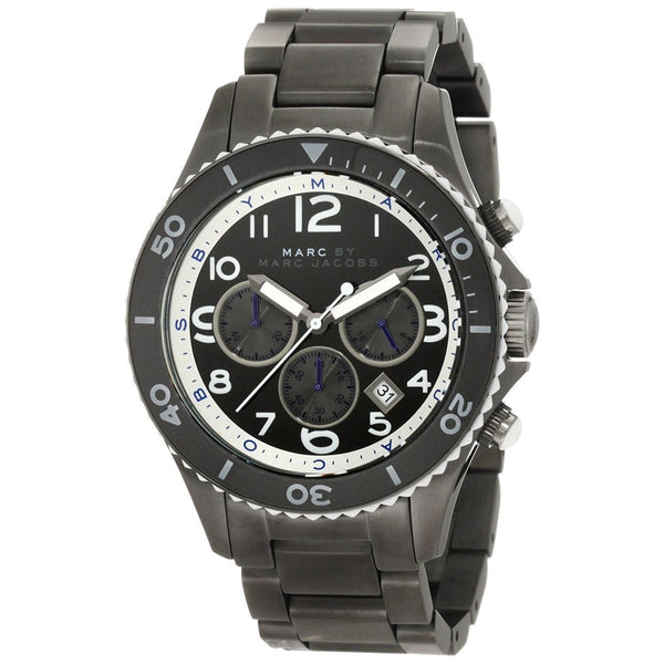 Marc Jacobs Men's MBM5025 Chronograph Black Stainless Steel Watch