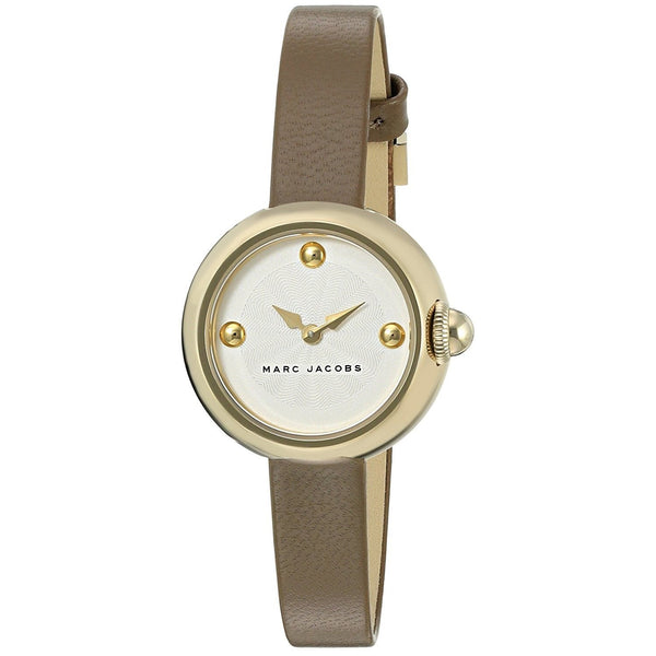 Marc Jacobs Women's MJ1431 'Courtney' Brown Leather Watch