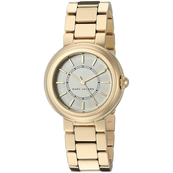 Marc Jacobs Women's MJ3465 'Courtney' Gold-Tone Stainless Steel Watch