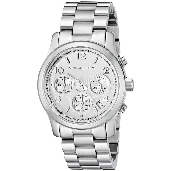 Michael Kors Women's MK5076 'Runway' Chronograph Stainless Steel Watch