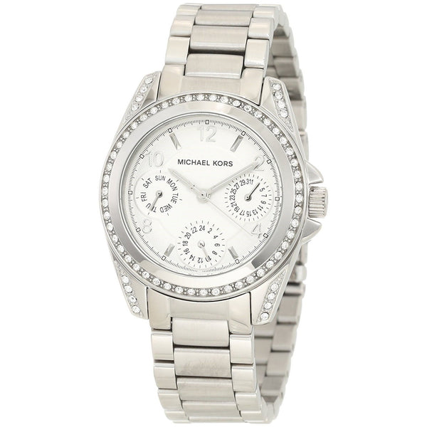 Michael Kors Women's MK5612 'Blair' Chronograph Crystal Stainless Steel Watch