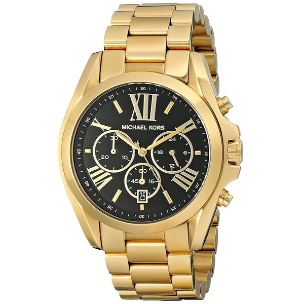 Michael Kors Women's MK5739 'Bradshaw' Chronograph Gold-Tone Stainless Steel Watch