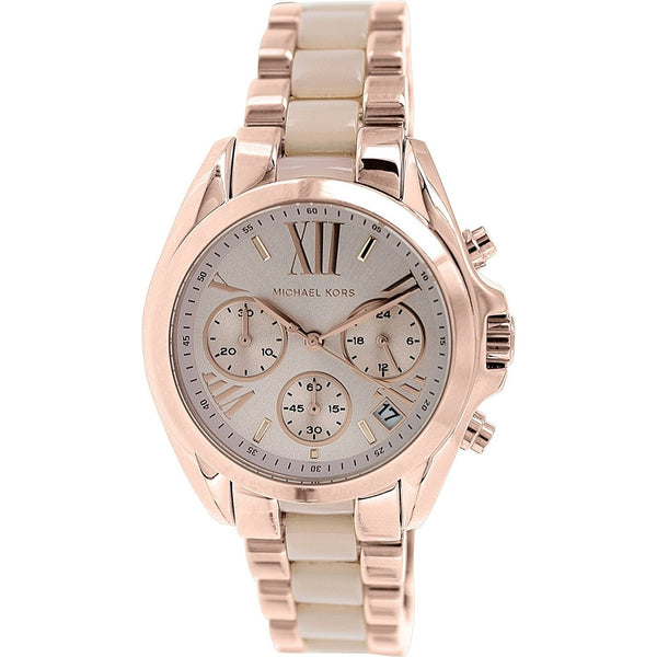 Michael Kors Women's MK6066 'Bradsaw' Chronograph Two-Tone Stainless Steel Watch