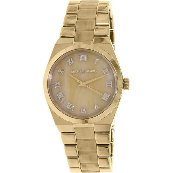 Michael Kors Women's MK6152 'Channing' Gold-Tone Stainless Steel Watch