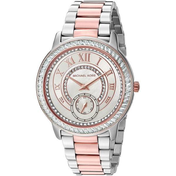 Michael Kors Women's MK6288 'Madelyn' Crystal Two-Tone Stainless Steel Watch