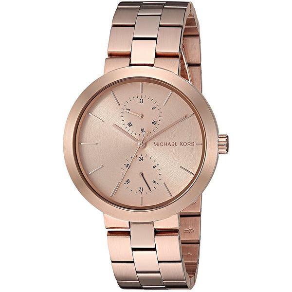 Michael Kors Women's MK6409 'Garner' Chronograph Rose-Tone Stainless Steel Watch