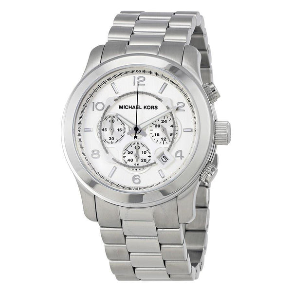 Michael Kors Men's MK8086 'Oversized Runway' Chronograph Stainless Steel Watch
