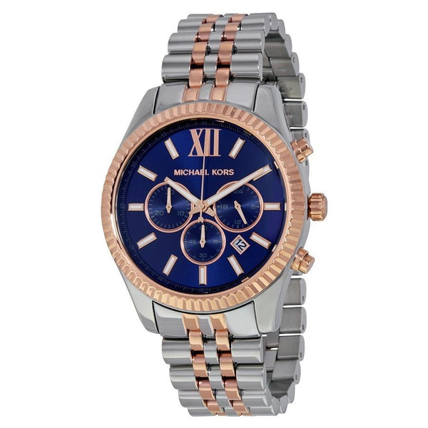 Michael Kors Men's MK8412 'Lexington' Chronograph Two-Tone Stainless Steel Watch