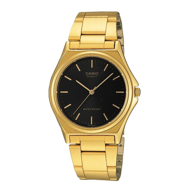 Casio Men's MTP-1130N-1A 'Classic' Gold-Tone Stainless Steel Watch