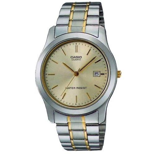 Casio Men's MTP-1141G-9A 'Classic' Two-Tone Stainless Steel Watch