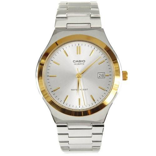 Casio Men's MTP-1170G-7A 'Dress' Stainless Steel Watch