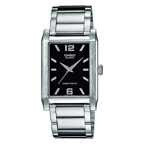 Casio Men's MTP-1235D-1A 'Classic' Stainless Steel Watch