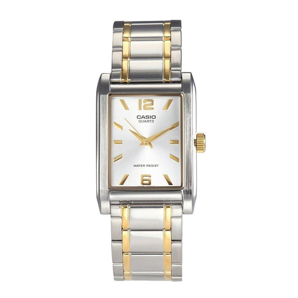 Casio Men's MTP-1235SG-7A 'Quartz' Two-Tone Stainless Steel Watch