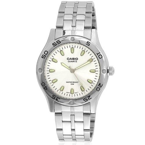 Casio Men's MTP-1243D-7A 'Classic' Stainless Steel Watch