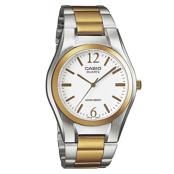 Casio Men's MTP-1253SG-7A 'Quartz' Two-Tone Stainless Steel Watch