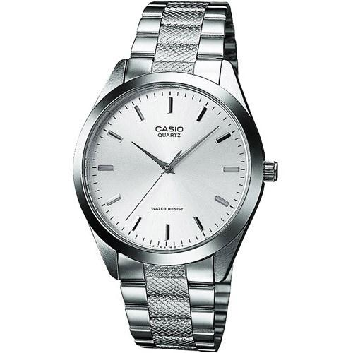 Casio Men's MTP-1274D-7A 'Classic' Stainless Steel Watch
