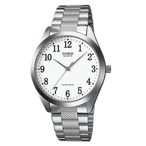 Casio Men's MTP-1274D-7B 'Classic' Stainless Steel Watch