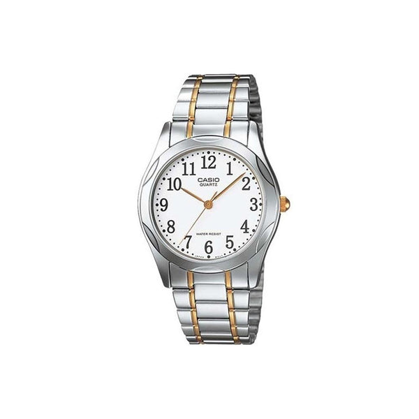 Casio Men's MTP-1275SG-7B 'Quartz' Two-Tone Stainless Steel Watch