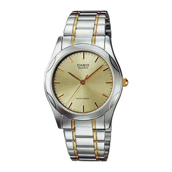 Casio Men's MTP-1275SG-9A 'Quartz' Two-Tone Stainless Steel Watch