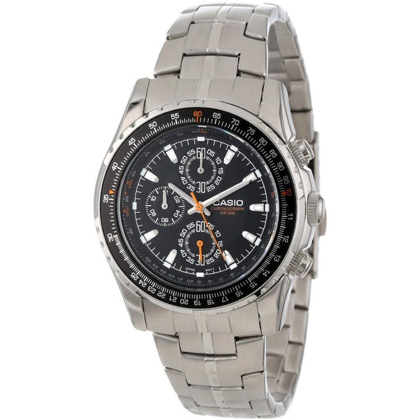 Casio Men's MTP-4500D-1AV 'Quartz' Stainless Steel Watch