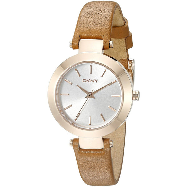 DKNY Women's NY2415 'Stanhope' Brown Leather Watch
