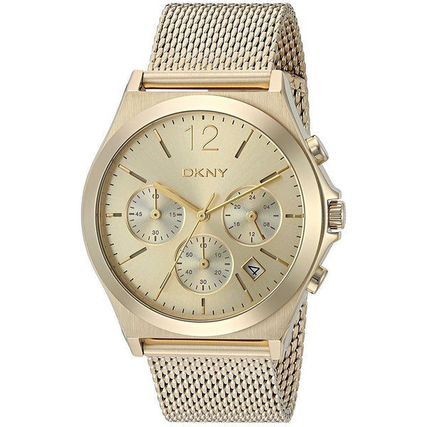 DKNY Women's NY2485 'Parsons' Chronograph Gold-tone Stainless Steel Watch