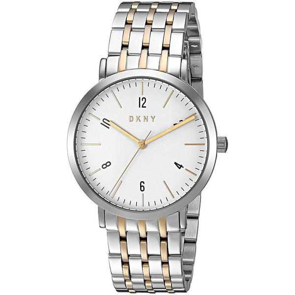 DKNY Women's NY2505 'Minetta' Two-Tone Stainless Steel Watch