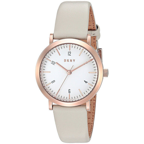 DKNY Women's NY2514 'Minetta' Grey Leather Watch