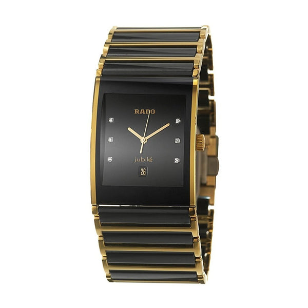 Rado Men's R20862752 'Integral' Diamond Two-Tone Stainless steel and Ceramic Watch