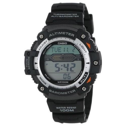Casio Men's SGW-300H-1AV 'Sport Gear' Digital Black Rubber Watch