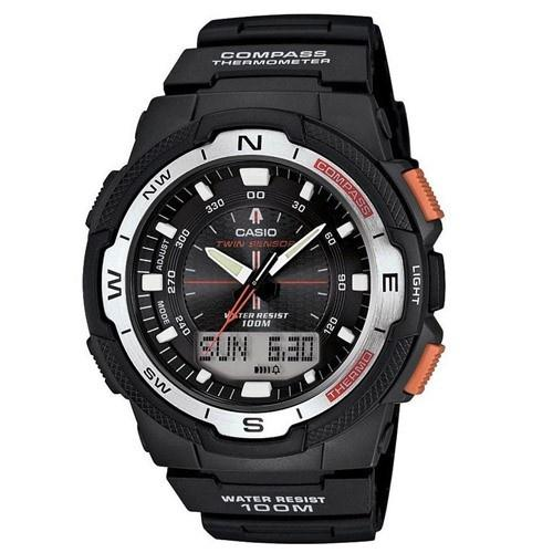 Casio Men's SGW-500H-1BV 'Sport Gear' Digital Black Rubber Watch