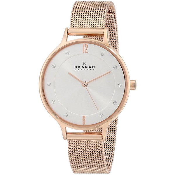 Skagen Women's SKW2151 'Anita' Crystal Rose-Tone Stainless Steel Watch