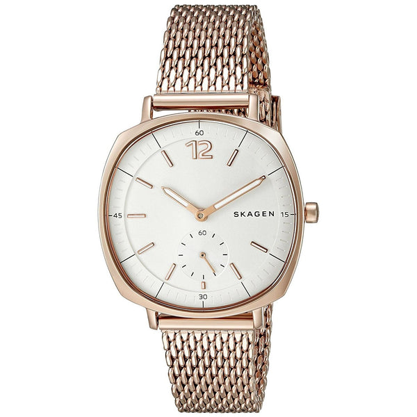 Skagen Women's SKW2401 'Rungsted' Rose-Tone Mesh Watch