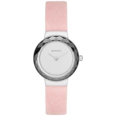 Skagen Women's SKW2425 'Leonora' Pink Leather Watch