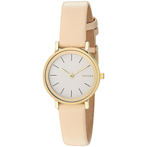 Skagen Women's SKW2444 'Hald' Beige Leather Watch