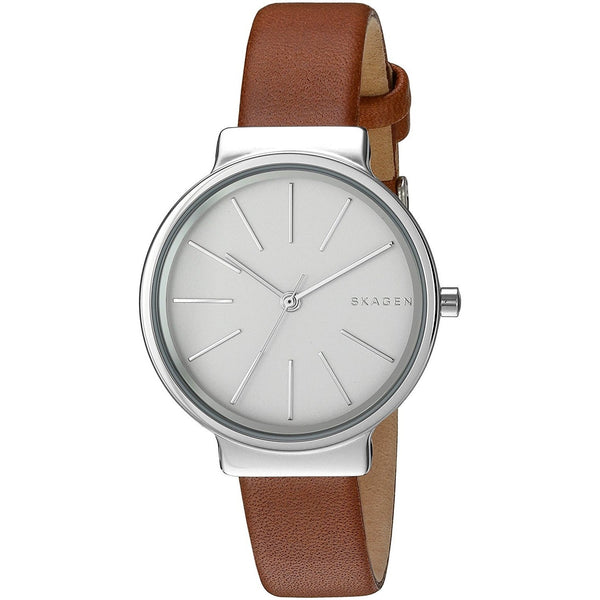 Skagen Women's SKW2479 'Ancher' Brown Leather Watch