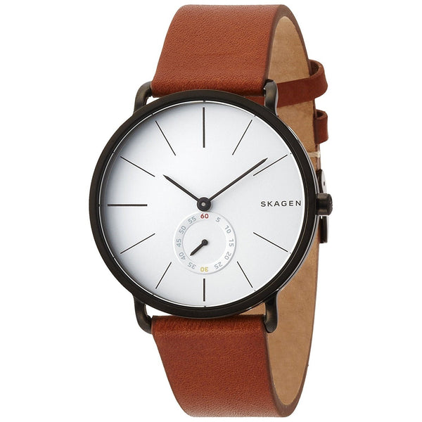Skagen Men's SKW6216 'Hagen' Brown Leather Watch